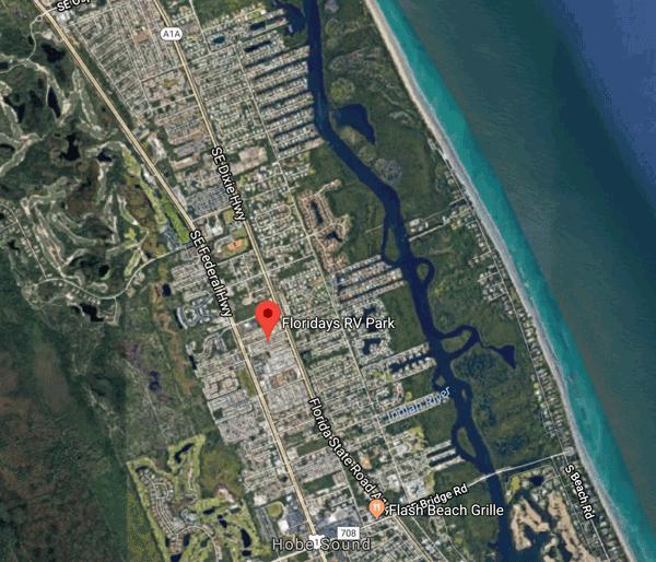 Floridays Map