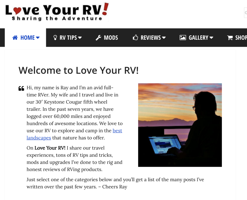 loveyourRV  screenshot